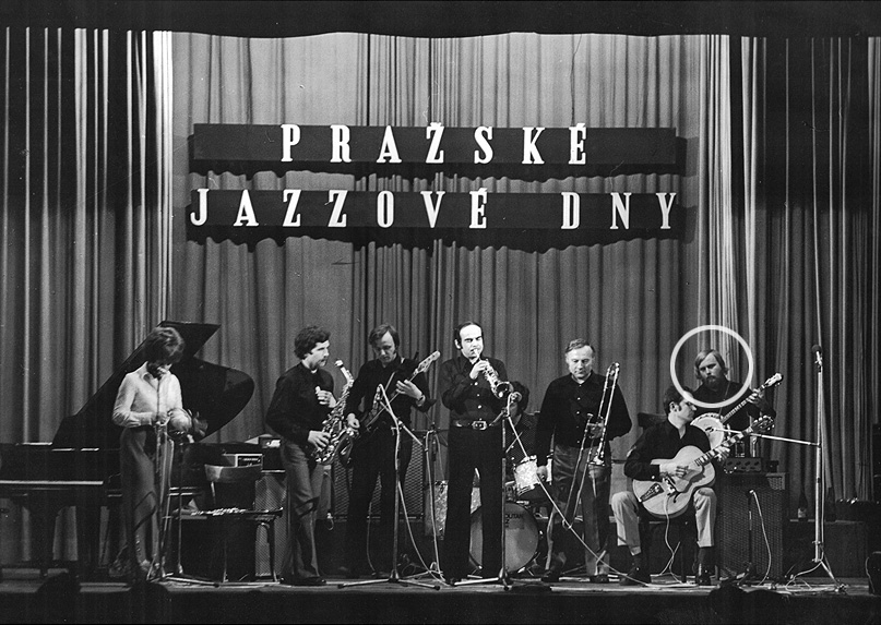 Jazz Metropolitan Josefa Krajníka 1. Pražské jazzové dny 17.3.1974